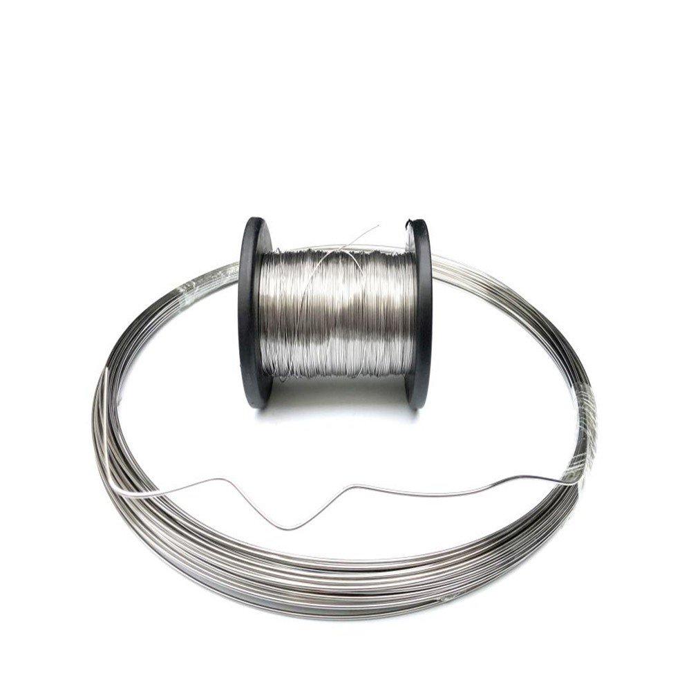 熱銷爆款 #304不銹鋼鋼絲 304不銹鋼鋼絲單股綁紮軟鐵絲線0.1mm 0.2mm-3mm綑紮纏花diy軟絲蜂巢框硬鋼