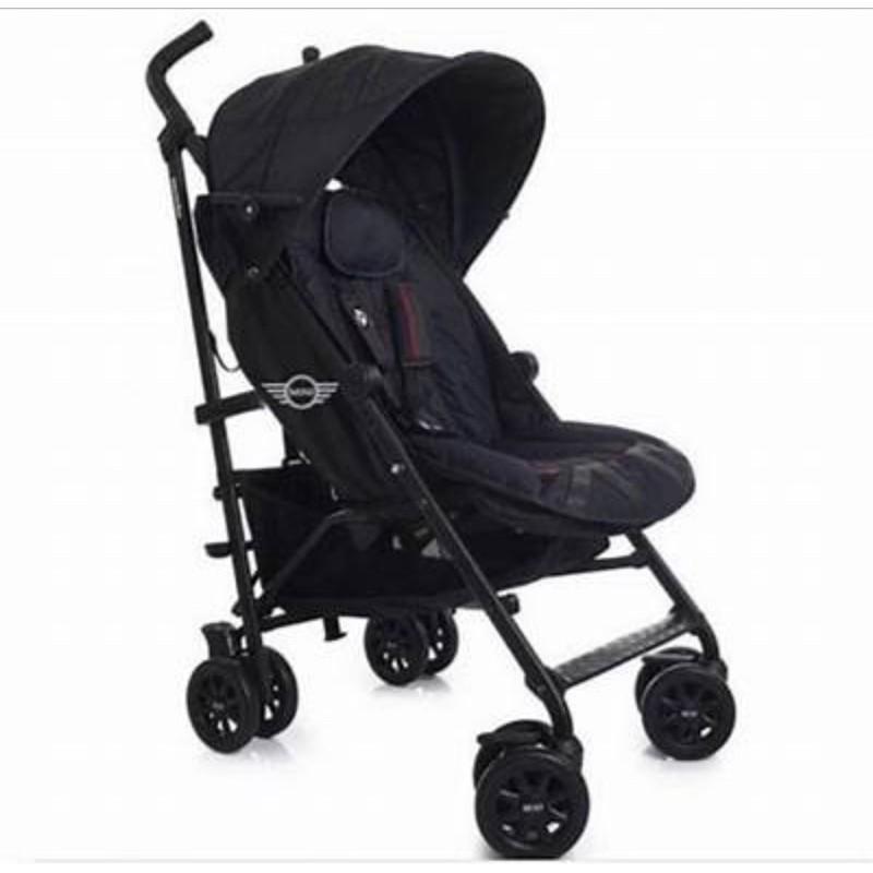 二手Mini Cooper 嬰兒推車 全黑