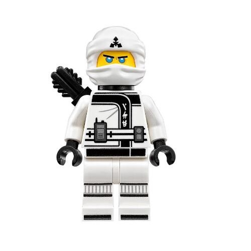 LEGO人偶 NJO318 Zane-Black Quiver 樂高炫風忍者電影系列(沒有背後的武器)【必買站】 樂高人