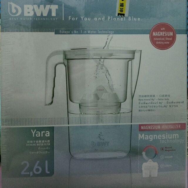 BWT 鎂離子濾水壺+濾心 倍世