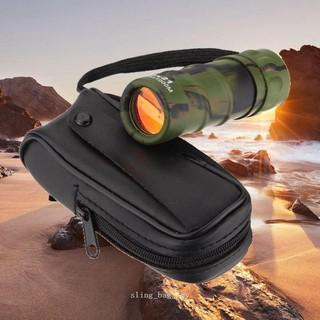 現成的8x21mm袖珍單筒望遠鏡適用於野營運動的便攜式瞄準鏡露營戶外迷你