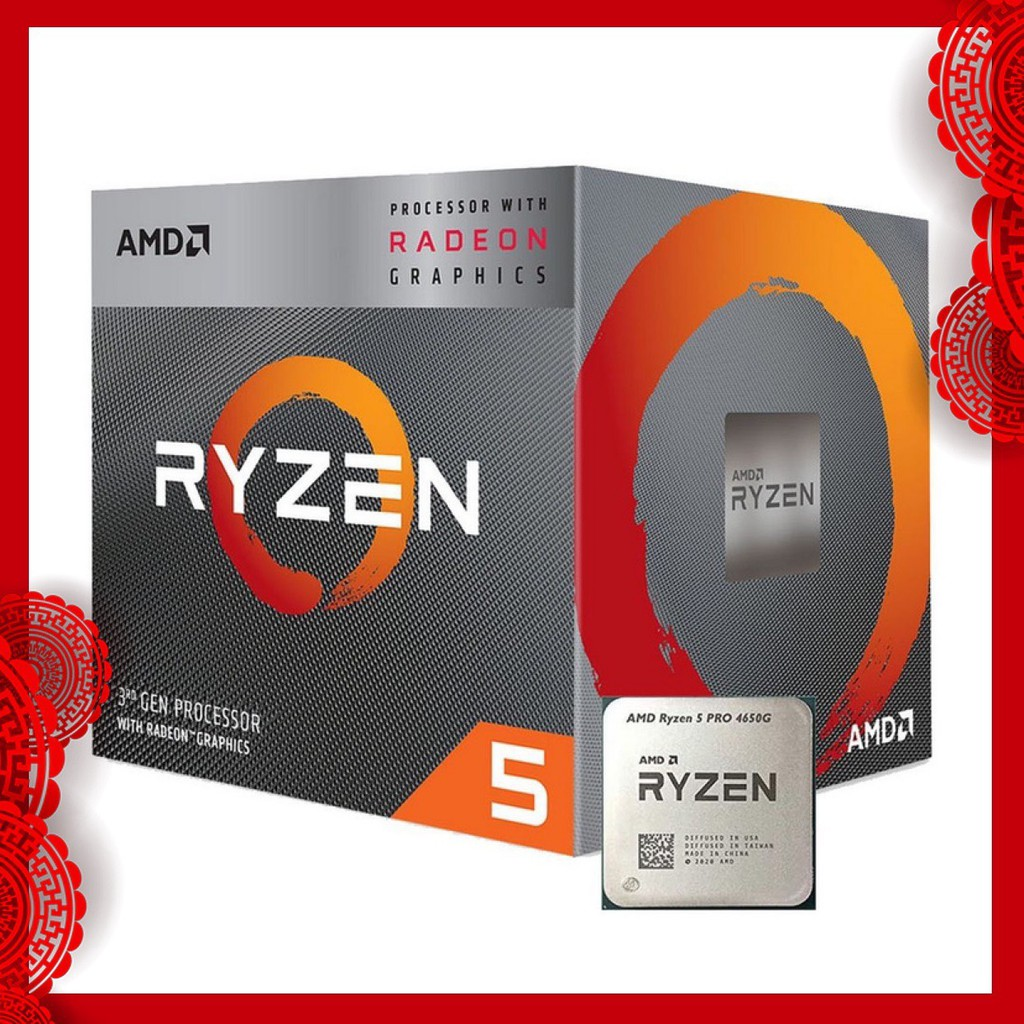 AMD Ryzen 5 PRO 4650G RYZEN 3 PRO 4350G CPU處理器 全新 公司貨