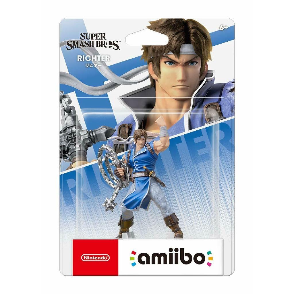 Nintendo Amiibo Richter Super Smash Brothers From Japan Swit