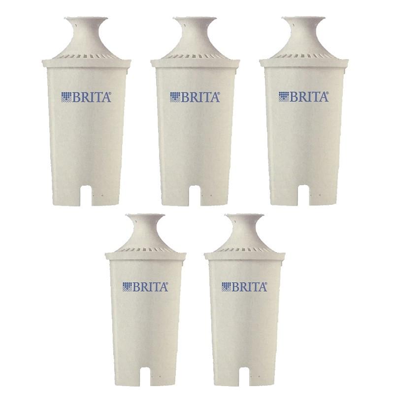 Brita 濾水壺專用圓形濾心/濾芯 5入 和舊款相容 效率更好可過濾151公升