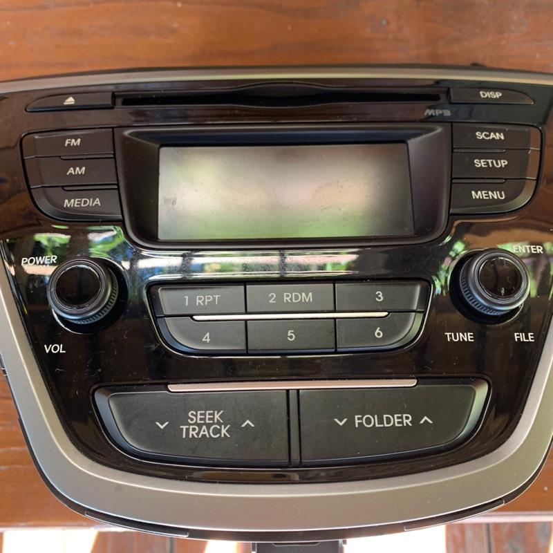 "Hyundai 現代 All New Elantra CD音響""正原廠""主機."