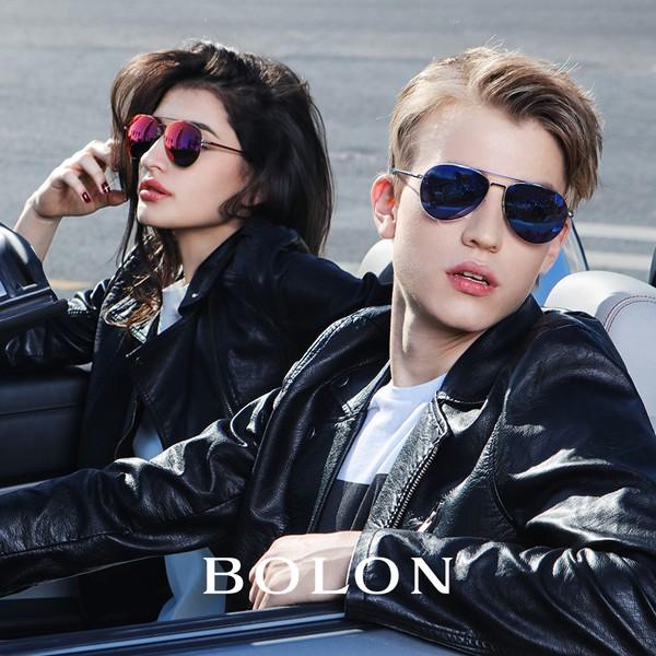 【BOLON 暴龍】經典熱賣百搭雷朋飛行框太陽眼鏡 偏光M系列 明星代言款 BL2560
