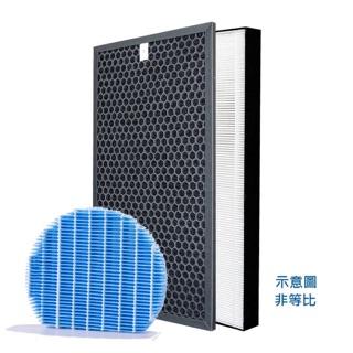 台灣現貨 Sharp 夏普 空氣清淨機 Hepa 濾網 活性碳 水活力 銀離子  KC-D50 E50 F50 台中市
