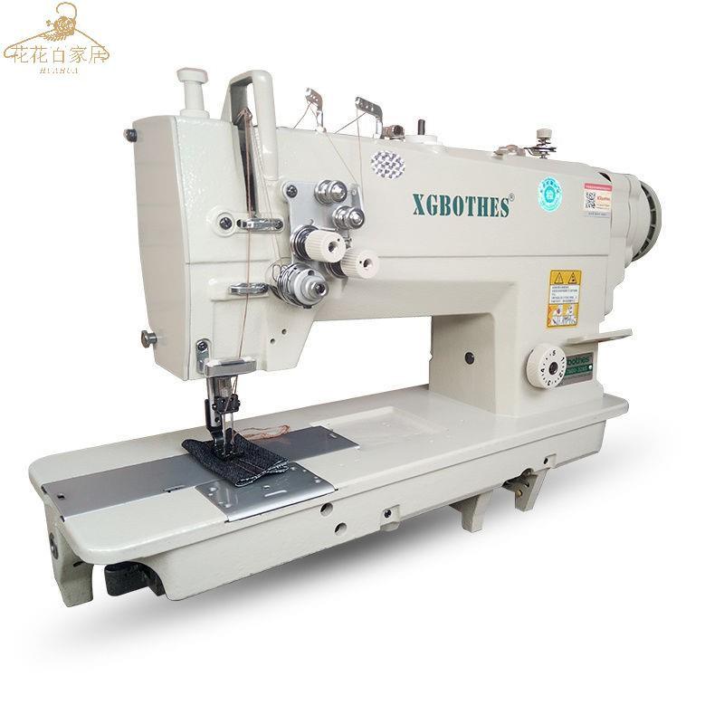 【工廠直銷】鉑兄 直銷842-845雙針平縫機電腦直驅雙旋梭雙針車工業縫紉機家用