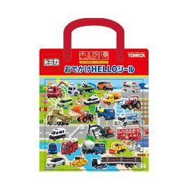 俏媽咪寶貝館~日本TOMICA車子手提貼紙包