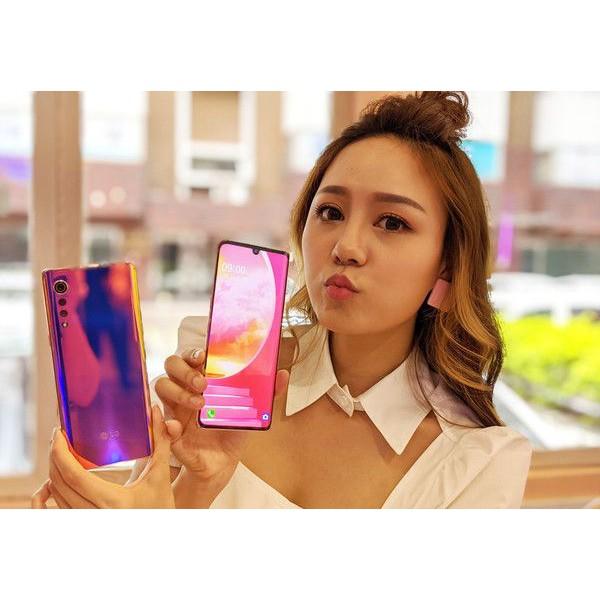 最低參考價~LG近全新~5G輕旗艦 Velvet G9 5G手機 高通765G V50S V60 V50 G8X 雙螢幕