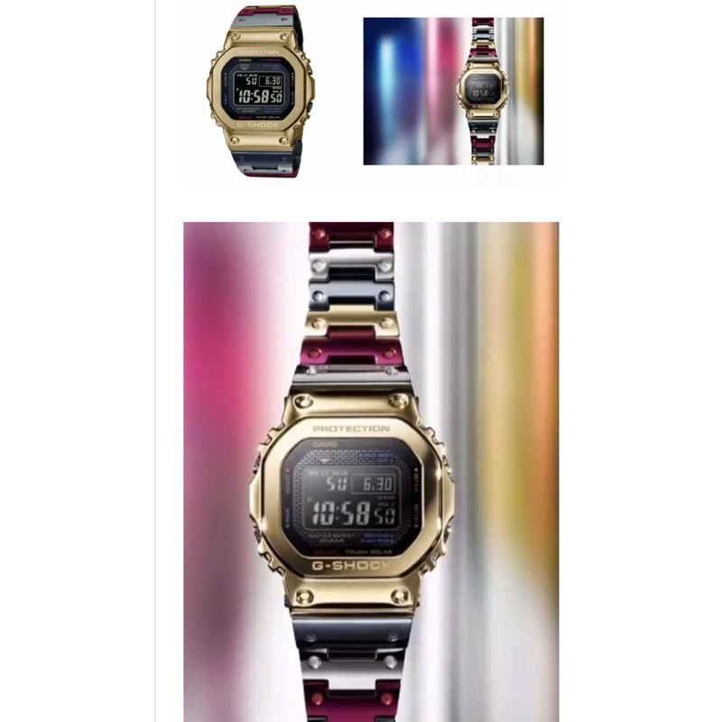 全新  Casio G-shock  GMW-B5000 SERIES GMW-B5000TR-9JR
