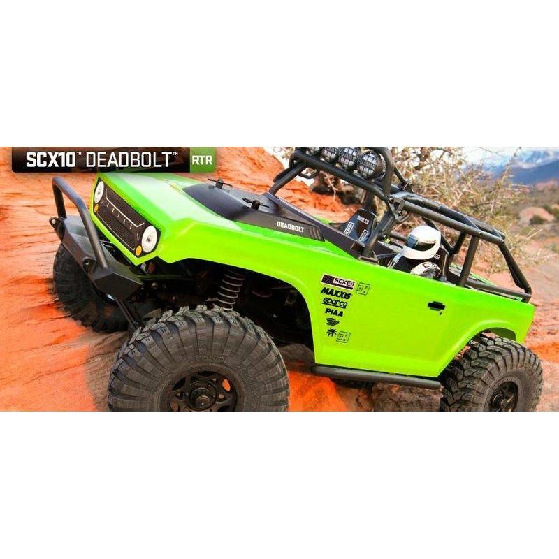 天母168  特價 攀岩車 AX90044 SCX10™ Deadbolt™  1/10  4WD  RTR