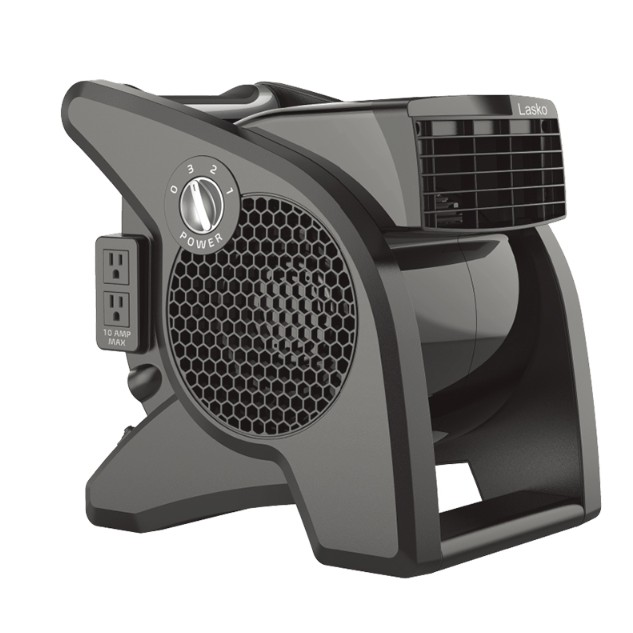 LASKO 黑武士 超效能渦輪循環風扇 U15617TW