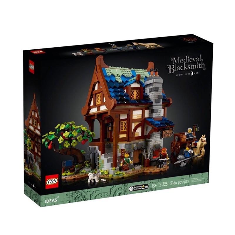 [全新現貨 限面交]LEGO 21325 中世紀鐵匠鋪