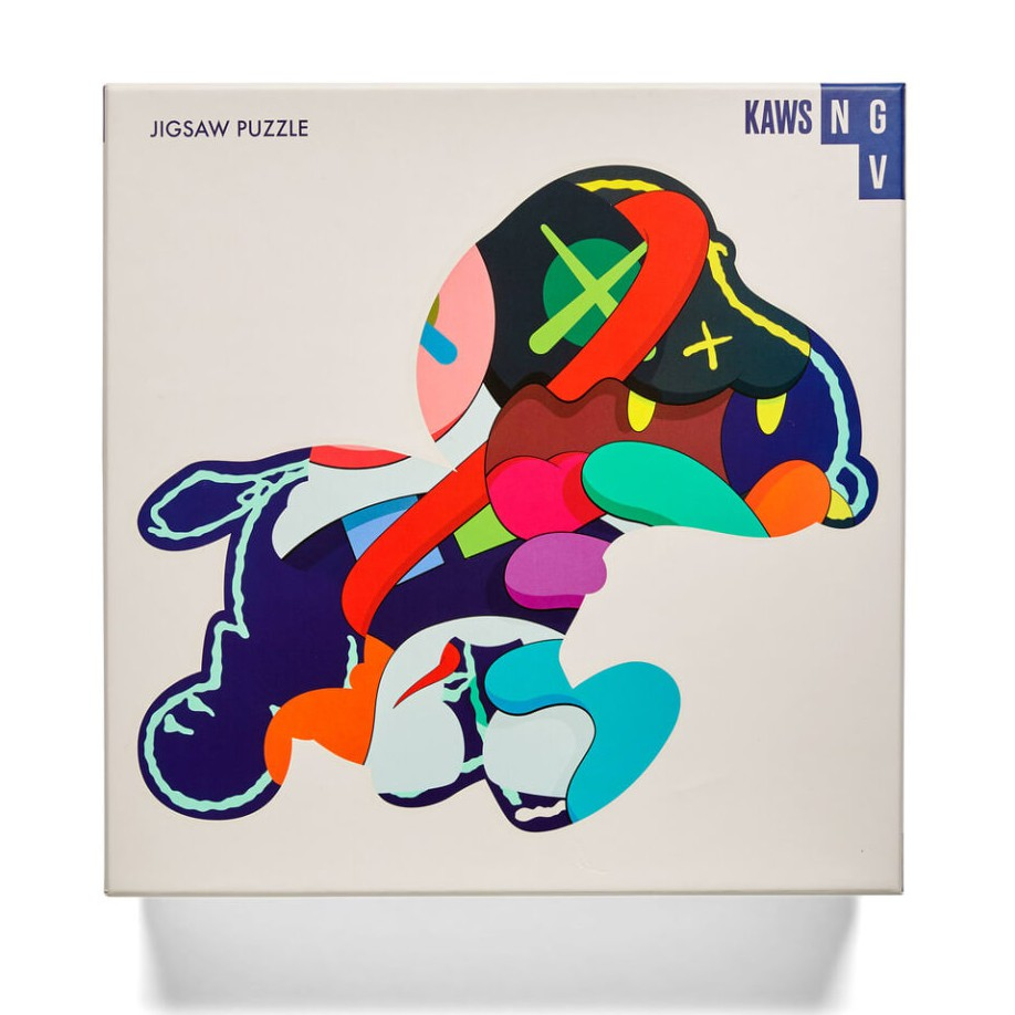 KAWS NGV PUZZLE Stay Steady 史努比拼圖