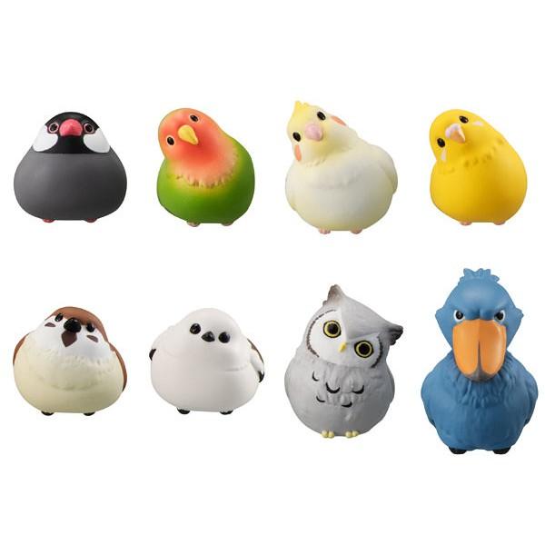 BANDAI 萬代 扭蛋 小鳥充電線裝飾公仔 P2 鸚鵡 麻雀 充電線 轉蛋 單售