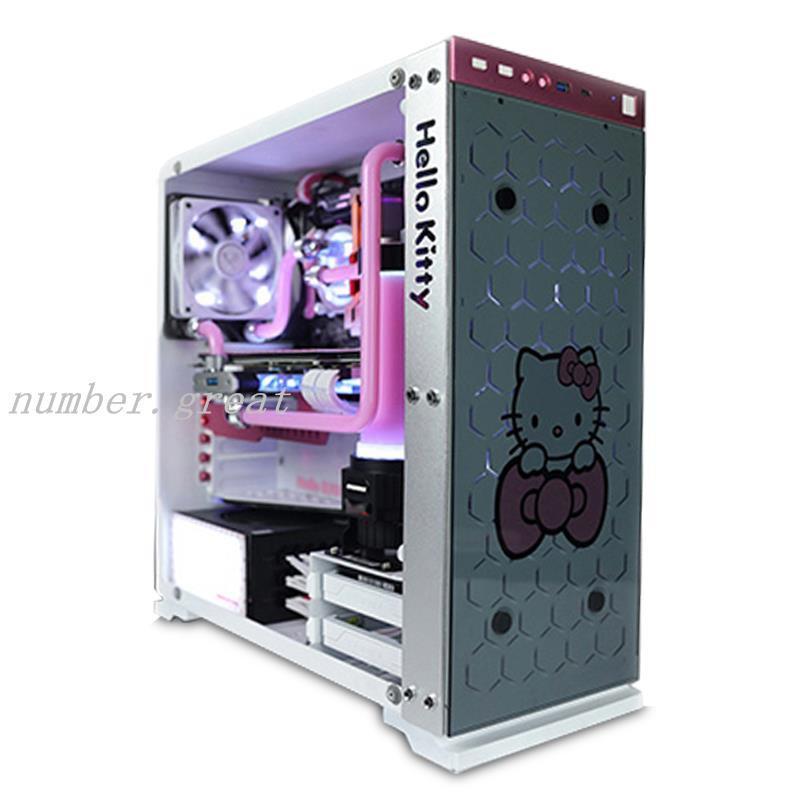 下殺☆FUXK Hello Kitty i9 10900k/RTX 3080水冷電競吃雞組裝電腦 臺式