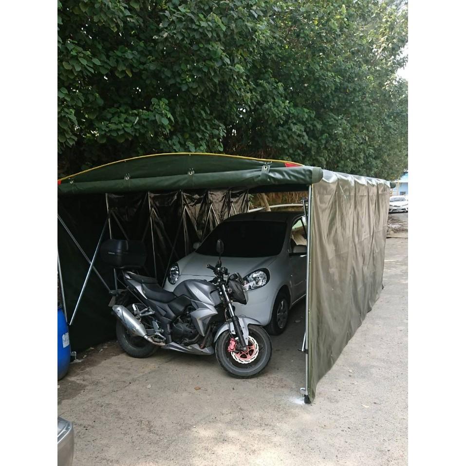 活動車棚、車庫、防曬、防水、遮雨、擋風、貨車、轎車、休旅車、雙車位訂製