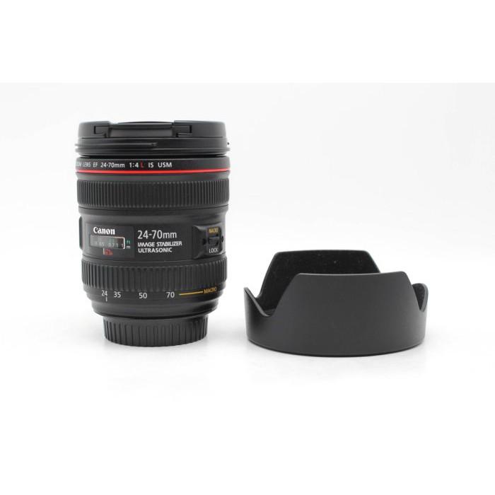 【高雄青蘋果3C】CANON EF 24-70MM F4 L IS USM 二手鏡頭 #48257