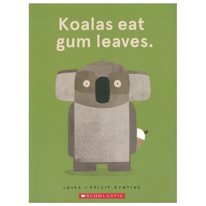 Koalas Eat Gum Leaves 爆笑繪本 書林平民繪本專賣店