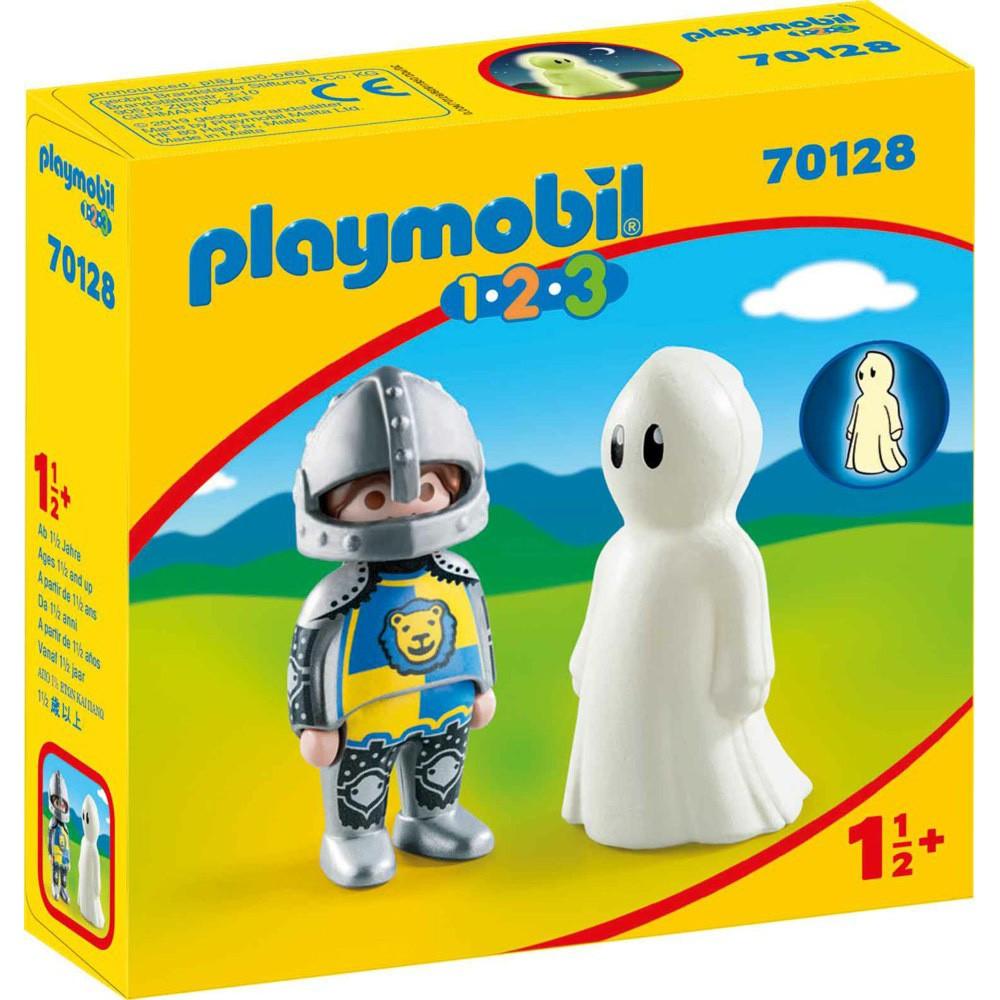 playmobil 1.2.3騎士與幽靈