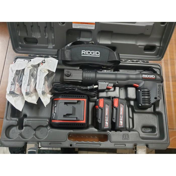 【優質五金】RIDGID RP318 里奇 不銹鋼管壓接機*壓接鉗* 同牧田18V電池