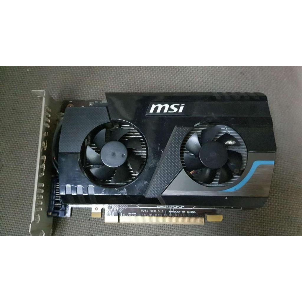 含稅 微星 R6670-MD2GD3 2G 2GB 保一個月 09V113