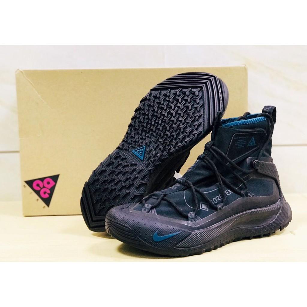 Nike ACG Air Terra Antarktik GORE-TEX Midnight 黑 登山鞋 BV6348