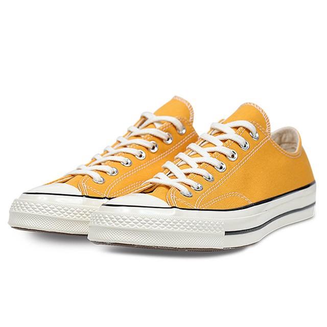 CONVERSE 男女 低筒帆布鞋 1970S 低筒土黃 - 162063C