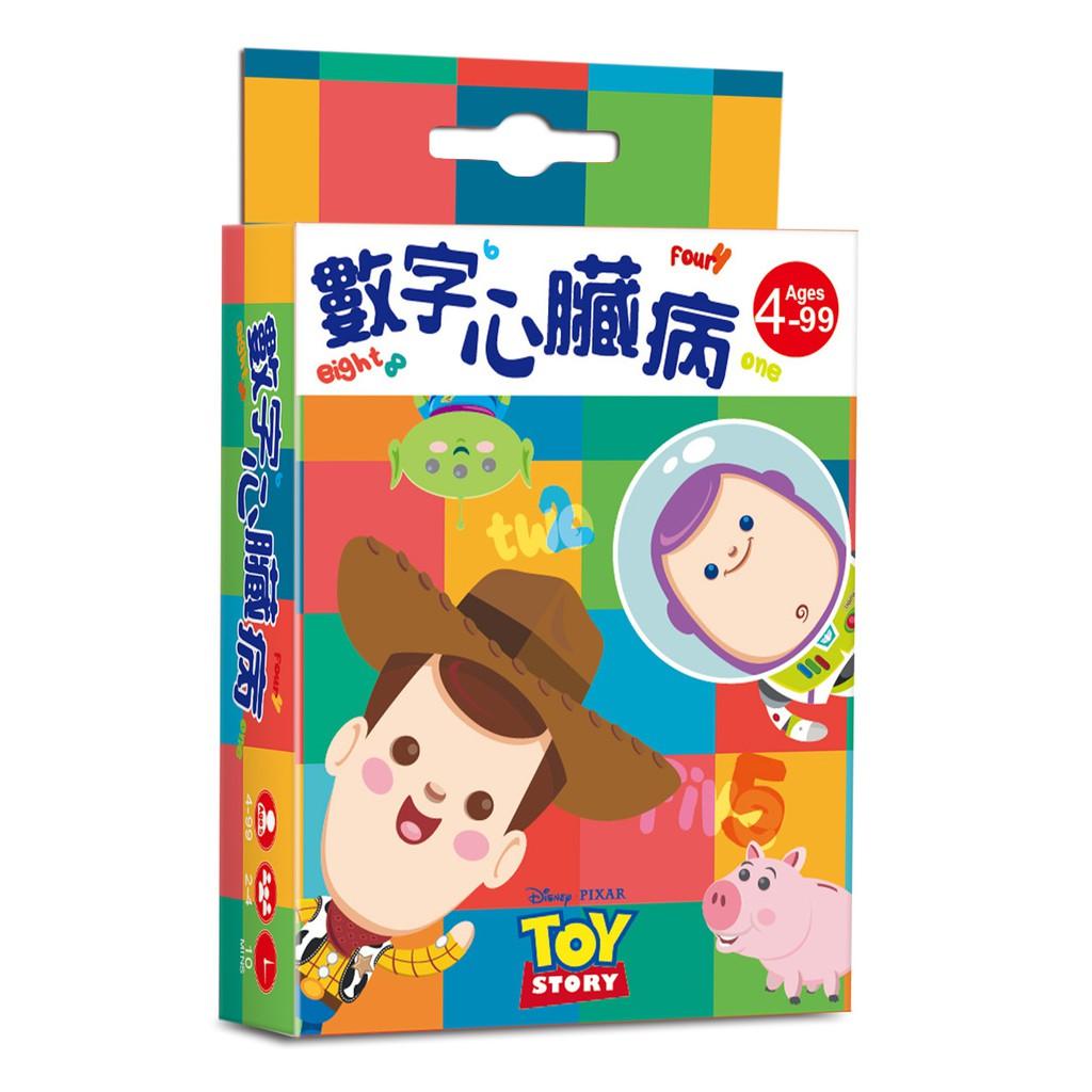 【東雨文化】數字心臟病 (玩具總動員系列) 【迪士尼DISNEY-益智卡牌】