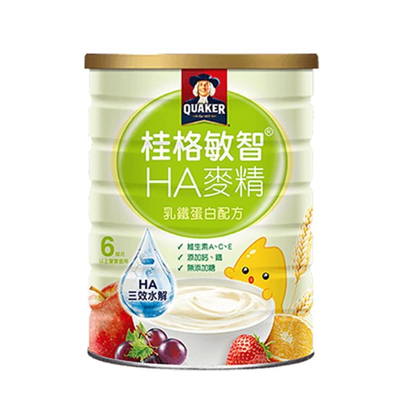 桂格-敏智HA麥精乳鐵蛋白配方650g 可愛婦嬰