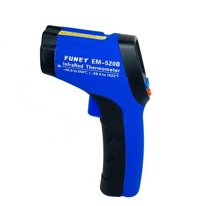 FUNET EM-520B 紅外線溫度槍 附電池 溫度計 測溫儀 測溫槍 工業用 測溫器 多用途溫度計