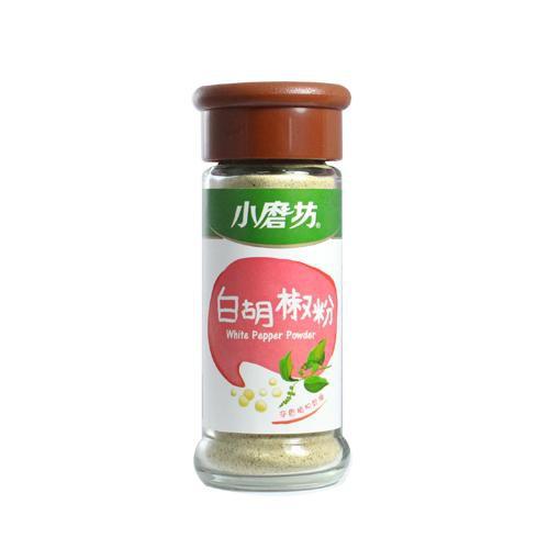 小磨坊白胡椒粉30g【愛買】