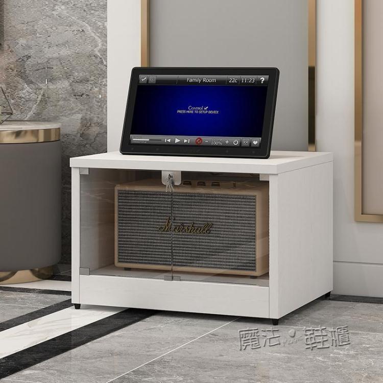 功放機架機櫃家庭影院器材音響機櫃帶鎖設備櫃音箱櫃行動CD膽機櫃