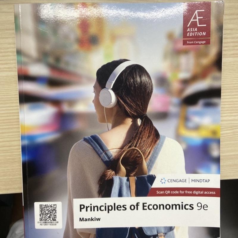 課本 經濟學 principles of economics 9e