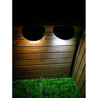 【GP藍天太陽能】 8LED 太陽能燈 籬笆燈 圍欄片 柵欄燈 小壁燈 花園燈  裝飾燈 庭園裝飾 G-121 高雄市