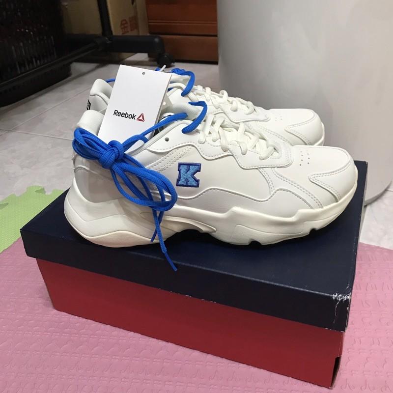 REEBOK X BT21 ROYAL TURBO IMPULSE UNISEX 老爹鞋 藍色KOYA款