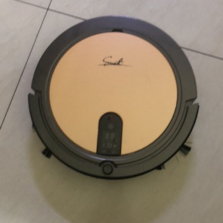 【Mr.Smart】8S 8倍高速氣旋移動吸塵掃地機器人 (愛馬仕橘)-掃地兼拖地