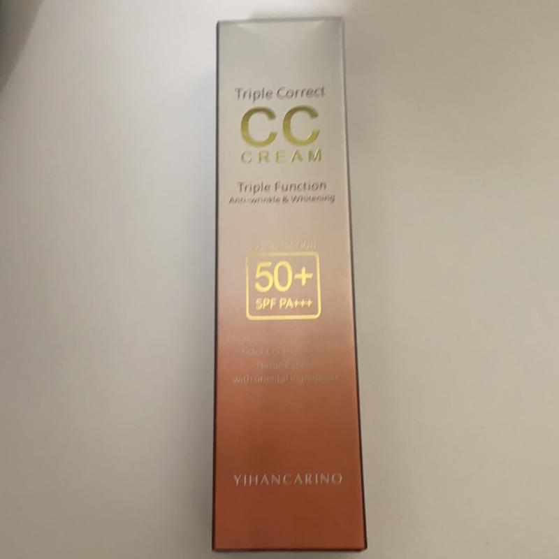 YIHAN CARINO 韓國麗仁堂 50+完美肌膚CC霜