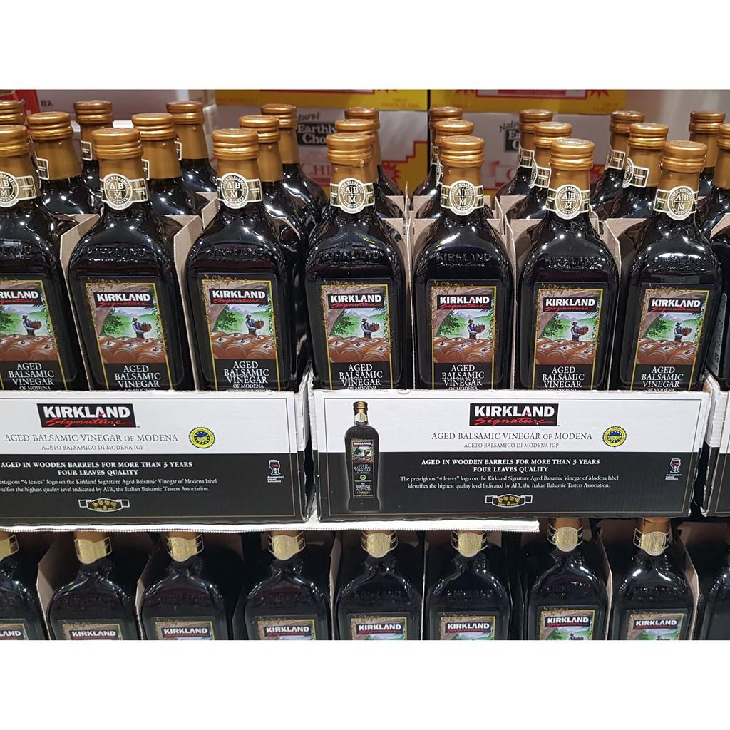 【好市多代購】Kirkland Signature 科克蘭 摩地納香醋 1 公升 調味 香醋 料理 好事多 好市多