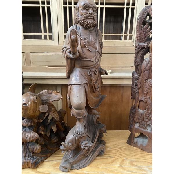 木質調課的神像二手的