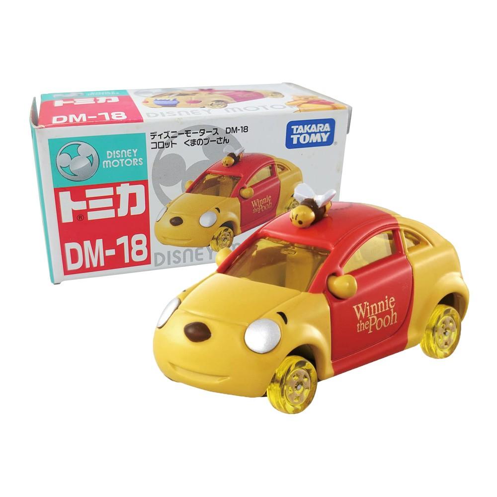 【TOMICA】多美小汽車 迪士尼 小熊維尼 維尼蜂蜜車 DM-18