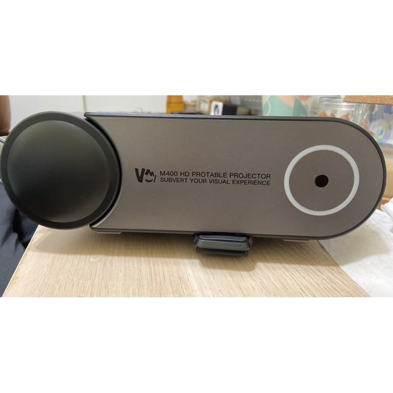 (二手)M400微米短距高清投影機/送手機同屏器+防撞包