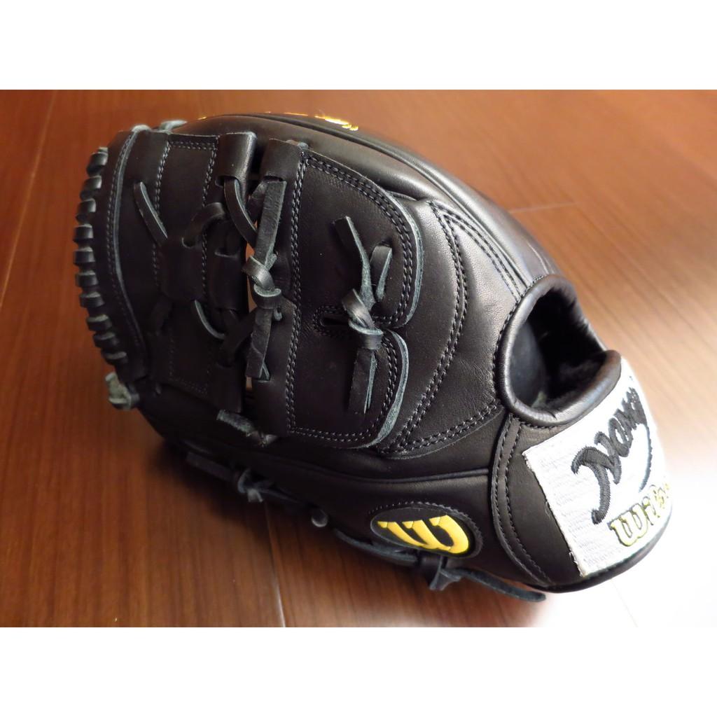 {圓圓小舖}全新日本製日製硬式 威爾森 Wilson A2000 野茂英雄 NOMO棒壘球手套投手手套袋鼠皮內裡反手左投