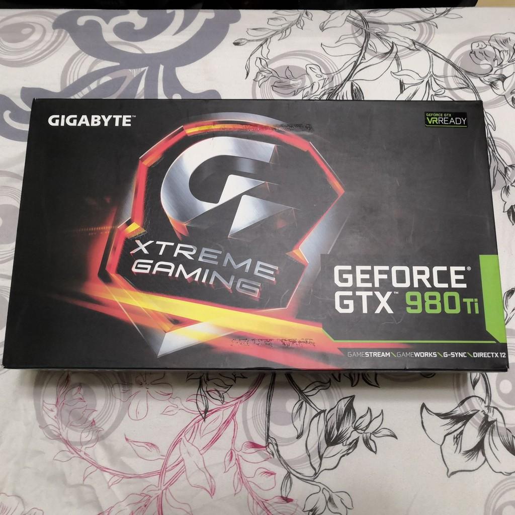 技嘉 頂級 GV-N98TXTREME-6GD 980TI 6G