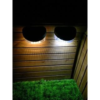 ☀️傑能科技☀️ 保固三個月 正品 加大號 8LED 太陽能 籬笆燈 圍欄片 柵欄燈 圍欄燈 壁燈 花園燈 L-08 高雄市