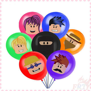 ♦ 派對裝飾 - 氣球 ♦ 1個裝 樂高 機器人 12寸乳膠氣球 機器人主題派對裝飾氣球 寶寶生日裝飾氣球