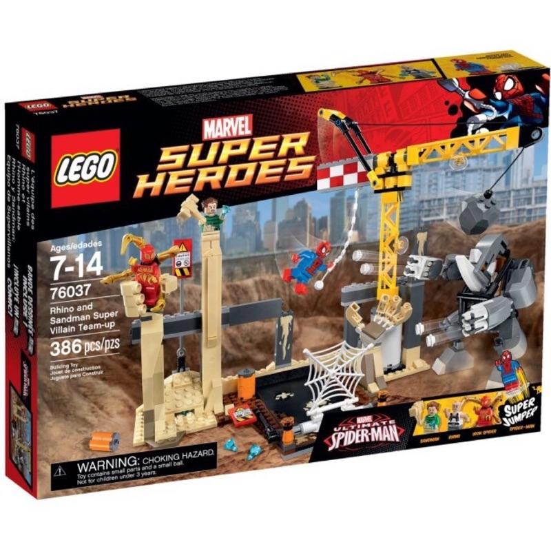 LEGO 樂高 76037  超級英雄系列 蜘蛛俠大戰犀牛怪 全新未拆