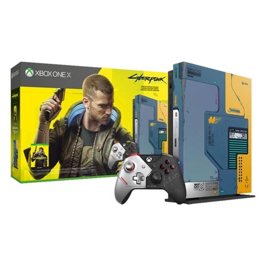 XBOX ONE X 1TB 限量版《電馭叛客 2077》同捆組【現貨】【GAME休閒館】