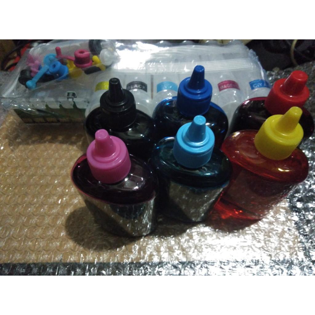 FOR EPSON T50 噴墨印表機專用連續供墨系統含永久晶片含環保墨水六色共600CC賣2300未稅